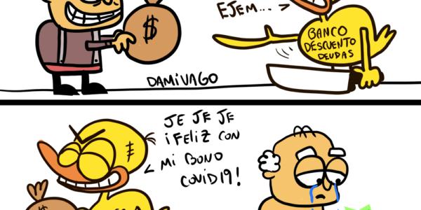 Damivago Nº 1606: Banco «Apestado»