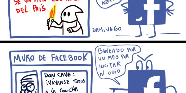 Damivago Nº 1603: Lógica Facebook