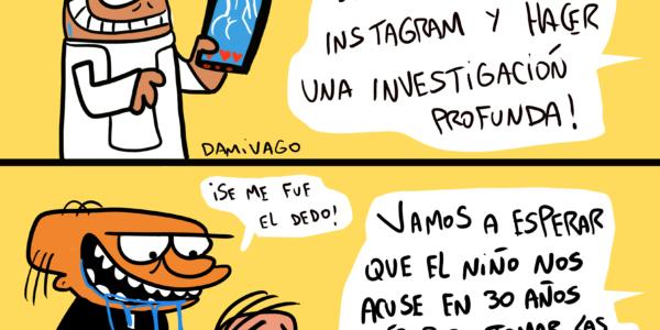Damivago Nº 1893: Instagram Papal