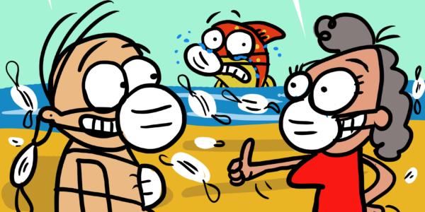 Damivago Nº 2334: Playas y contaminación