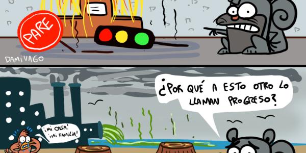 Damivago Nº 2078: Vandalismo