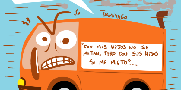 Damivago Nº 1895: Bus del Odio