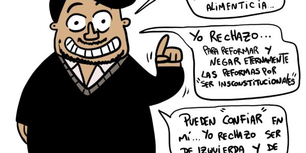 Damivago Nº 1766: Chico Rechazo, un nuevo personaje