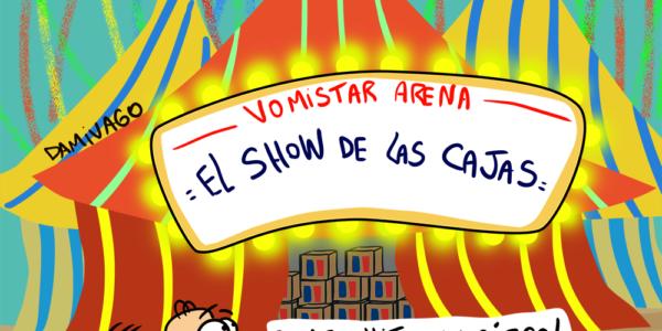 Damivago Nº 1611: Circo