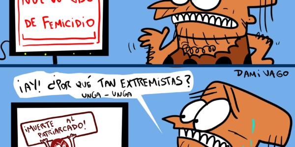 Damivago Nº 2081: «Extremista»…