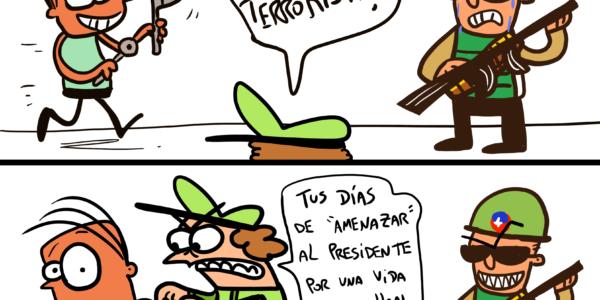 Damivago Nº 1910: «Terroristas»
