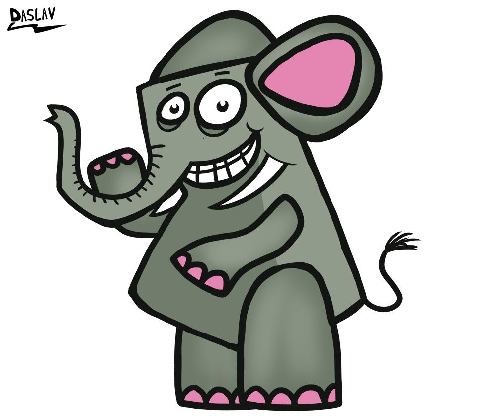 Diseño de Personaje: Elefante Tito