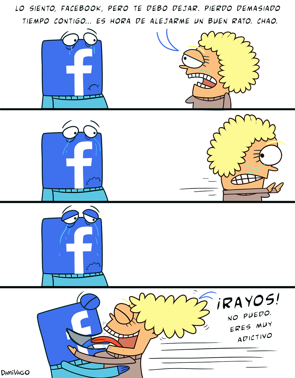 Damivago Nº 303: Abandonar Facebook