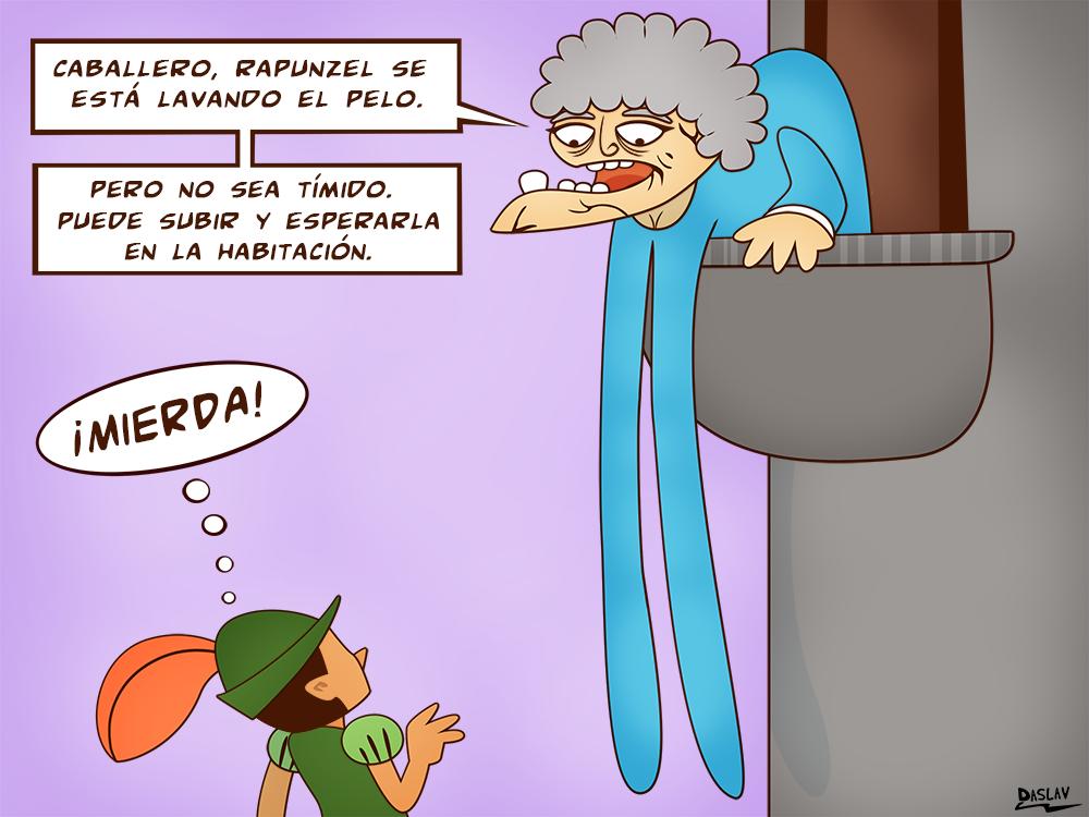Damivago Nº 355: La Abuela de Rapunzel