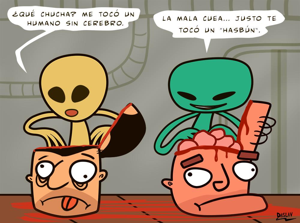 Viñeta: Experimentos Alienígenas