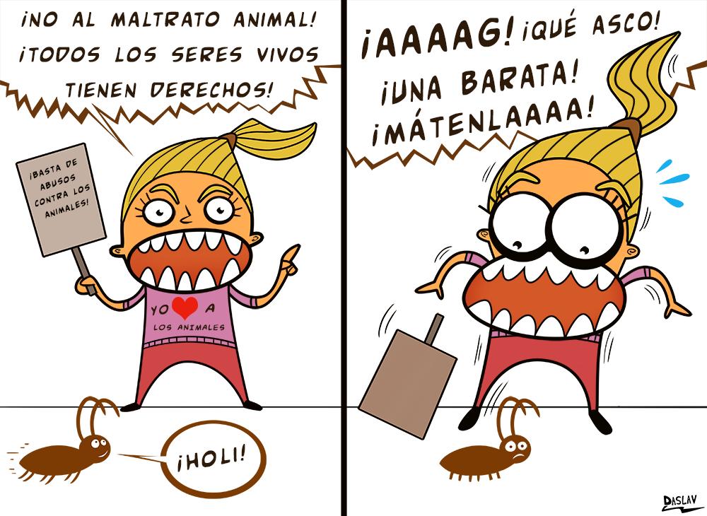 """Nueva Viñeta: """"Animalistas"""""""