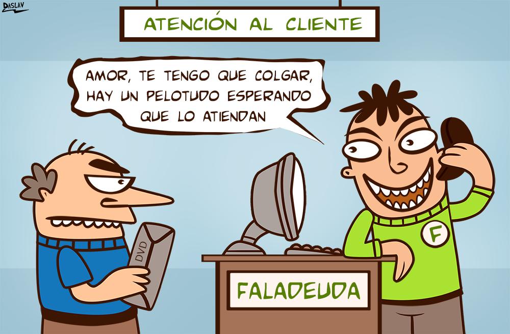 Viñeta: Atención al Cliente