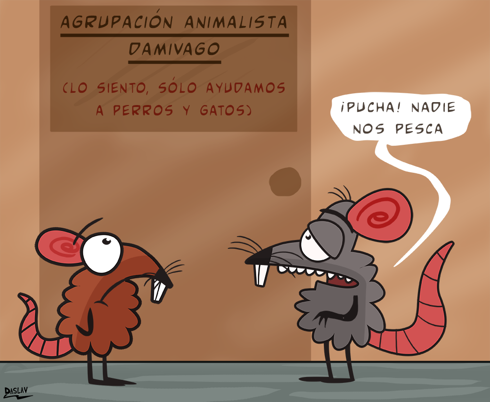 Viñeta: Discriminación Animal 2