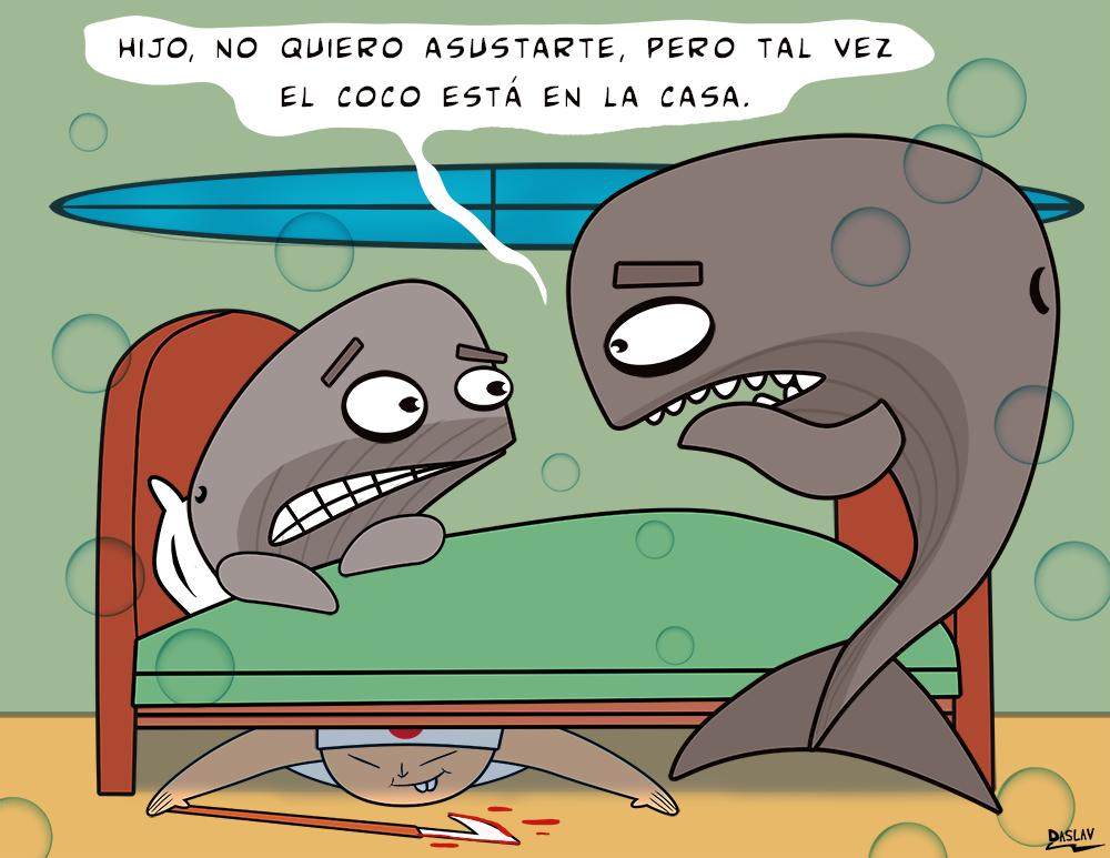 Damivago N° 357:  Vida de Ballenas