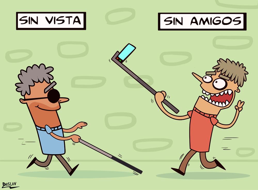 Nueva Viñeta: Bastón Selfie
