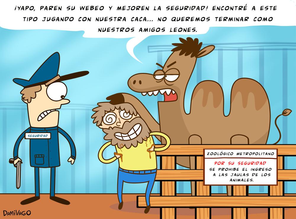 Viñeta: Seguridad Zoo