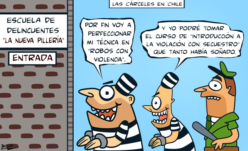 Damivago Nº 337: Cárceles Chilenas
