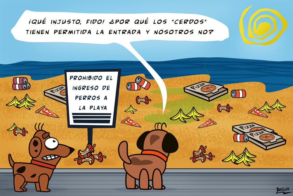 """Nueva Viñeta: """"Cerdos"""""""