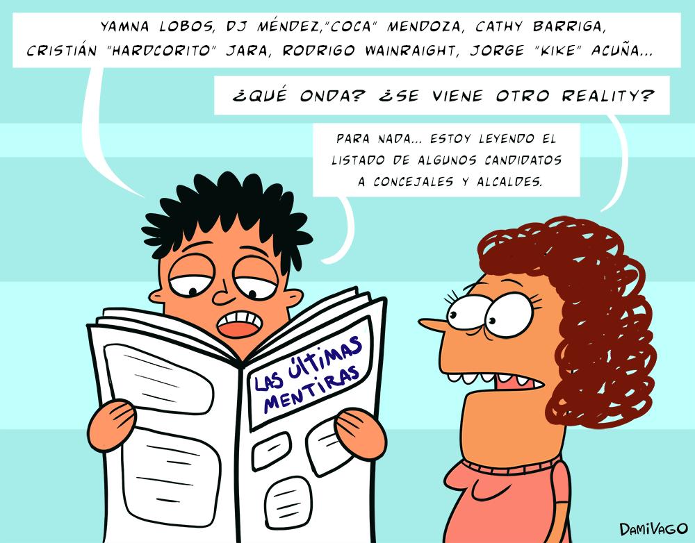 Viñeta: Otra de Candidatos