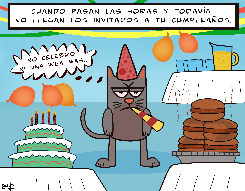 Nueva Viñeta: Cumpleaños