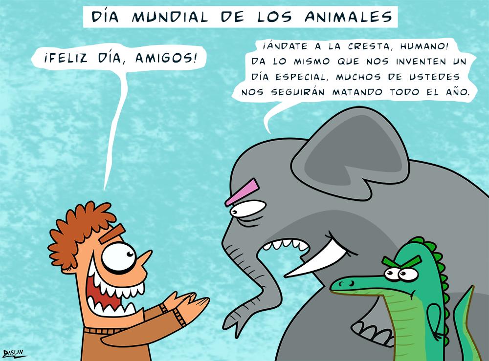 Damivago Nº 343: Día Mundial de los Animales