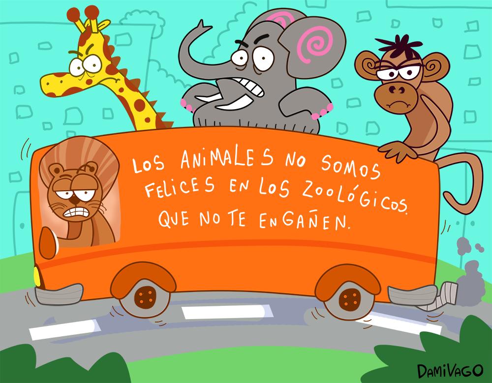 Damivago Nº 541: Bus de los Animales