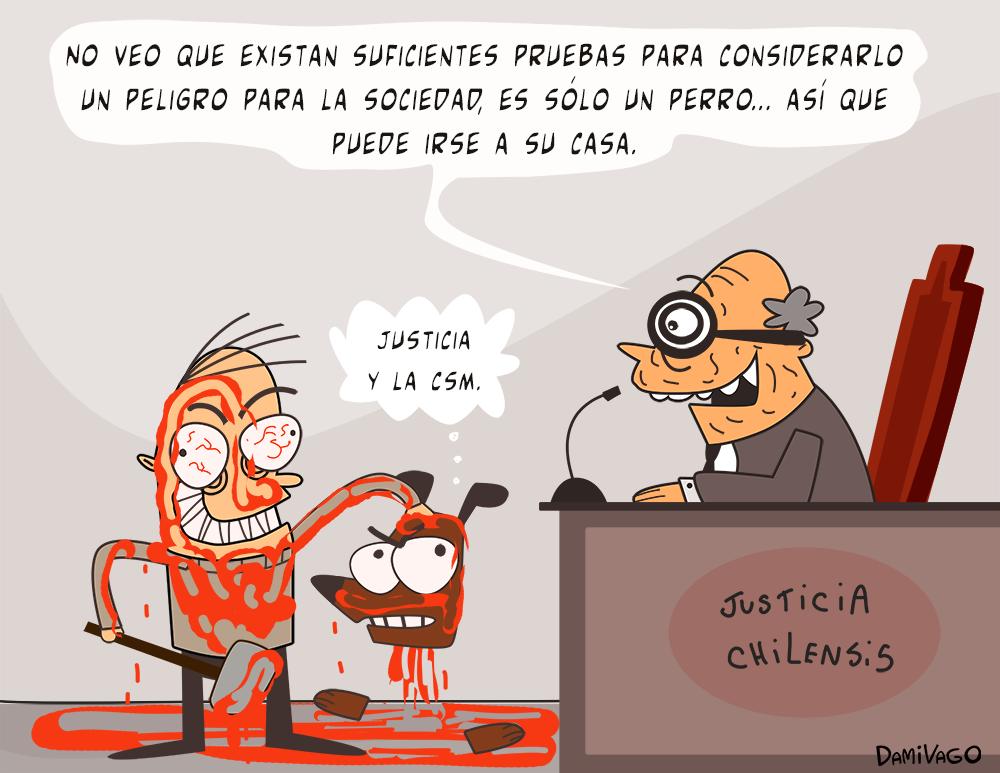 """Damivago Nº 547: Más de la """"justicia"""" Chilensis"""