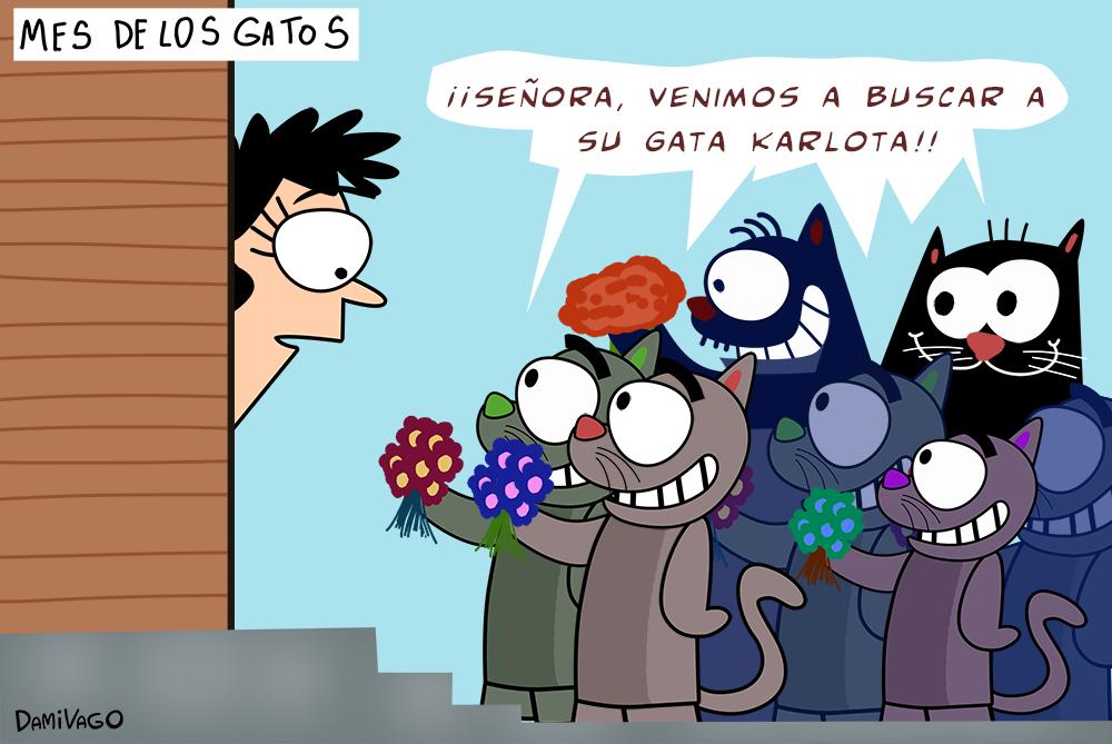 Damivago Nº 564: Mes de Los Gatos