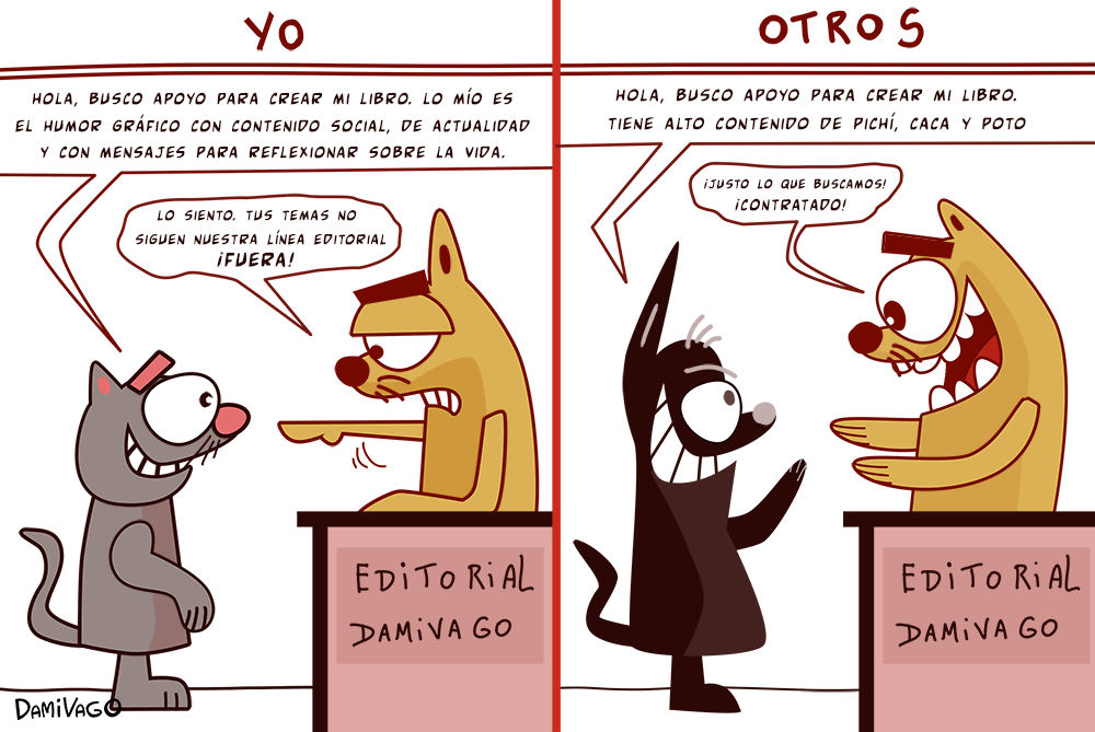 Damivago Nº 576: Línea Editorial