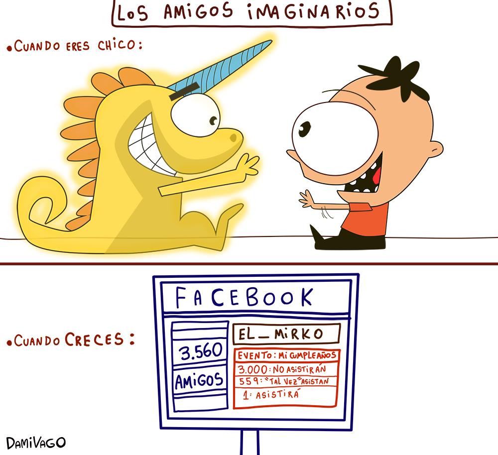 Damivago Nº 577 : Amigos Imaginarios