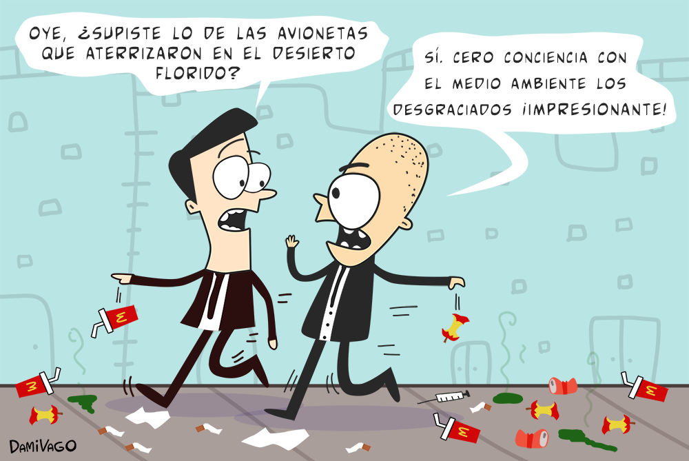 Damivago Nº 595: Doble Discurso Ambiental