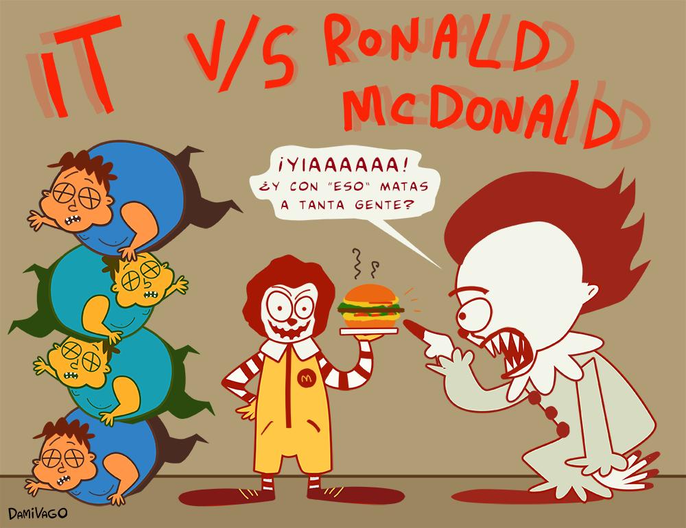 Damivago Nº 596: IT VS Ronald McDonald