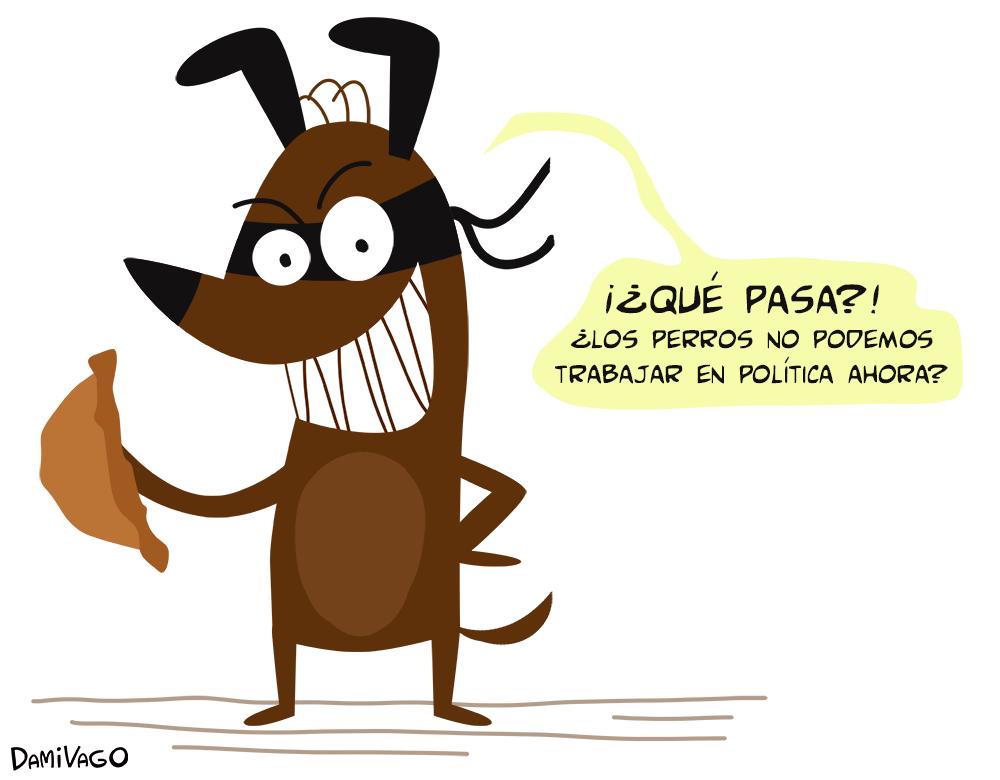 Damivago Nº 598: Perro Ladrón De Empanadas
