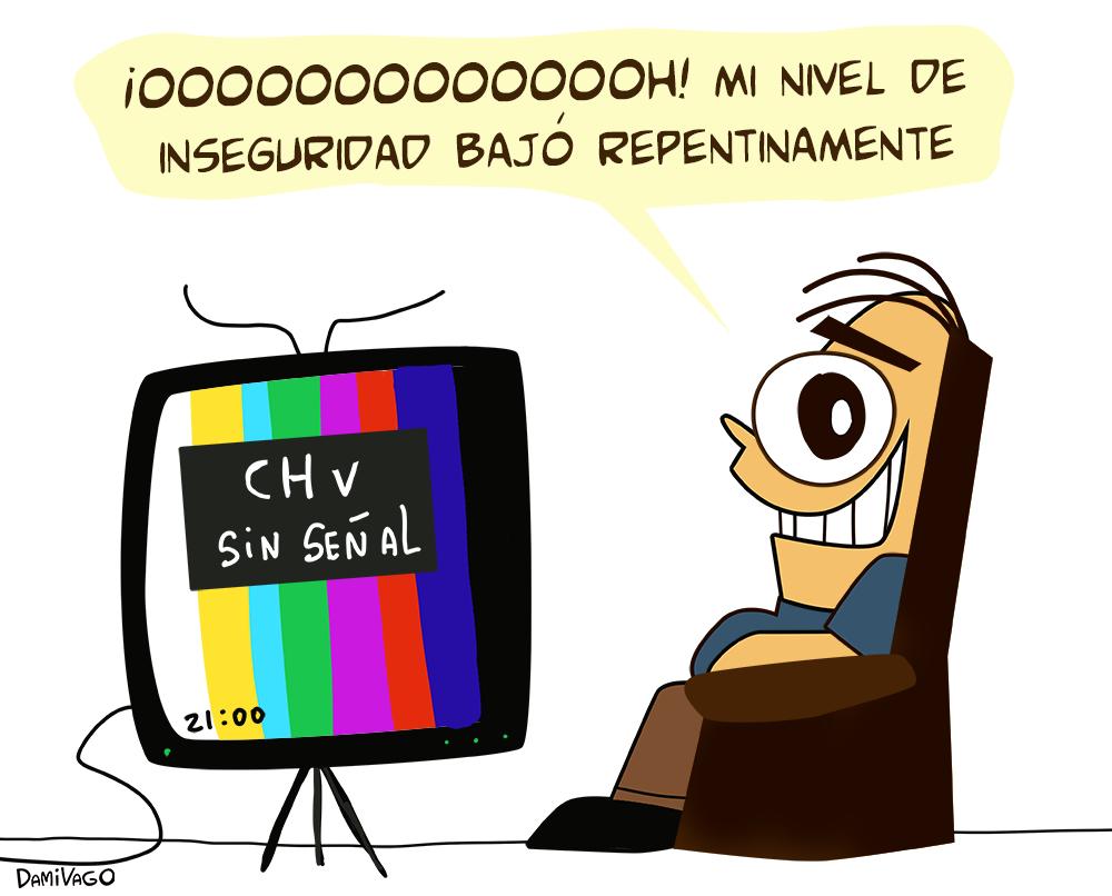 Damivago Nº 599:  CHV sin Señal