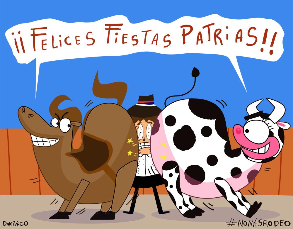Damivago Nº 605: Felices Fiestas Patrias