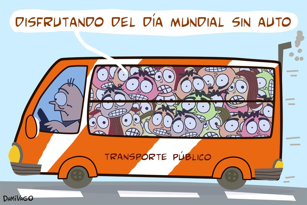 Damivago Nº 610: Día Mundial Sin Autos