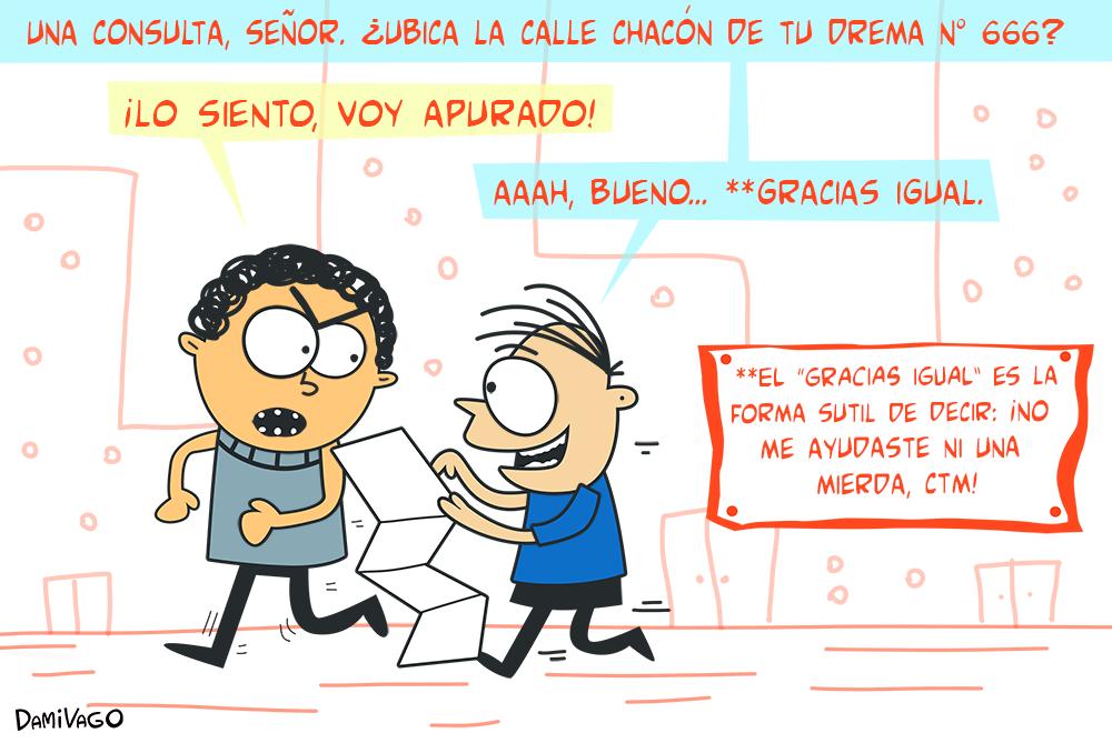 """Damivago  Nº 611: """"Gracias Igual"""" y su significado"""