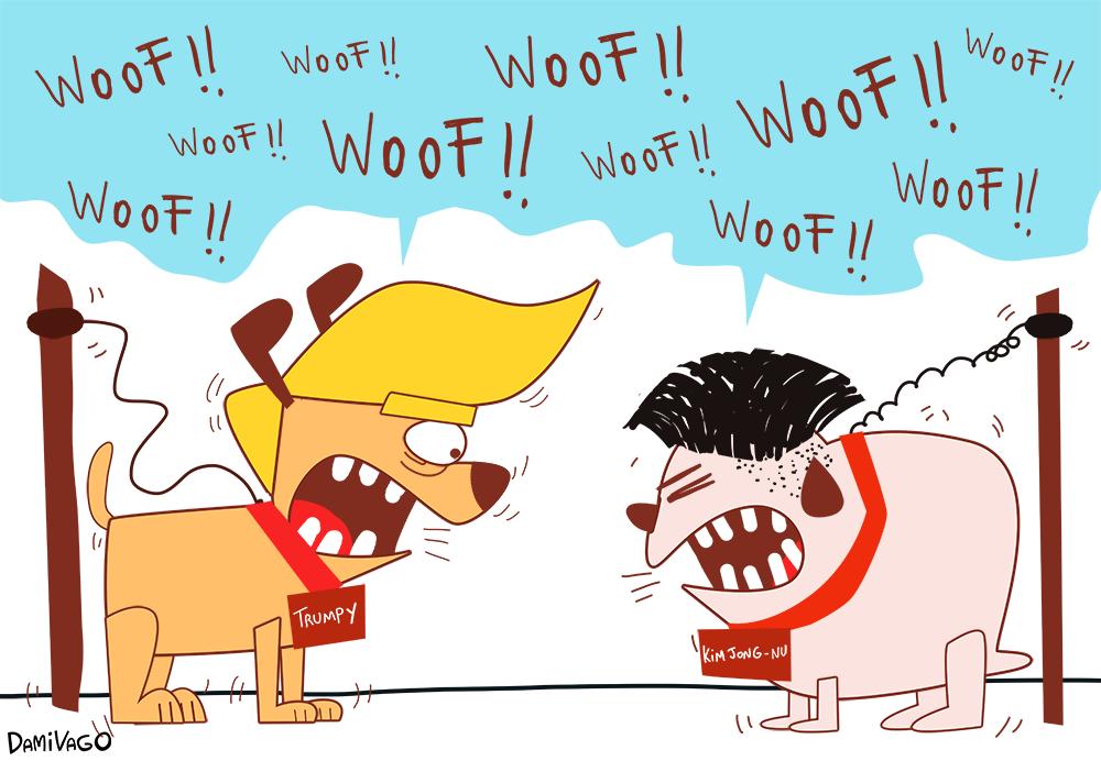 Damivago Nº 615: Perro que ladra...