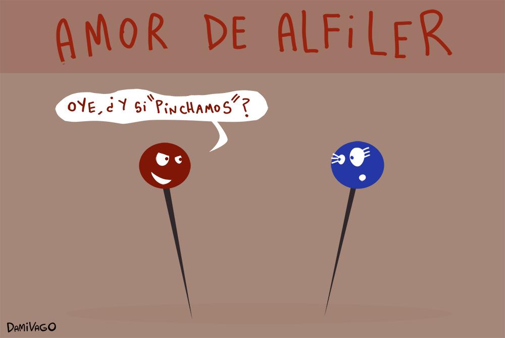 Damivago Nº 617: Amor de Alfiler
