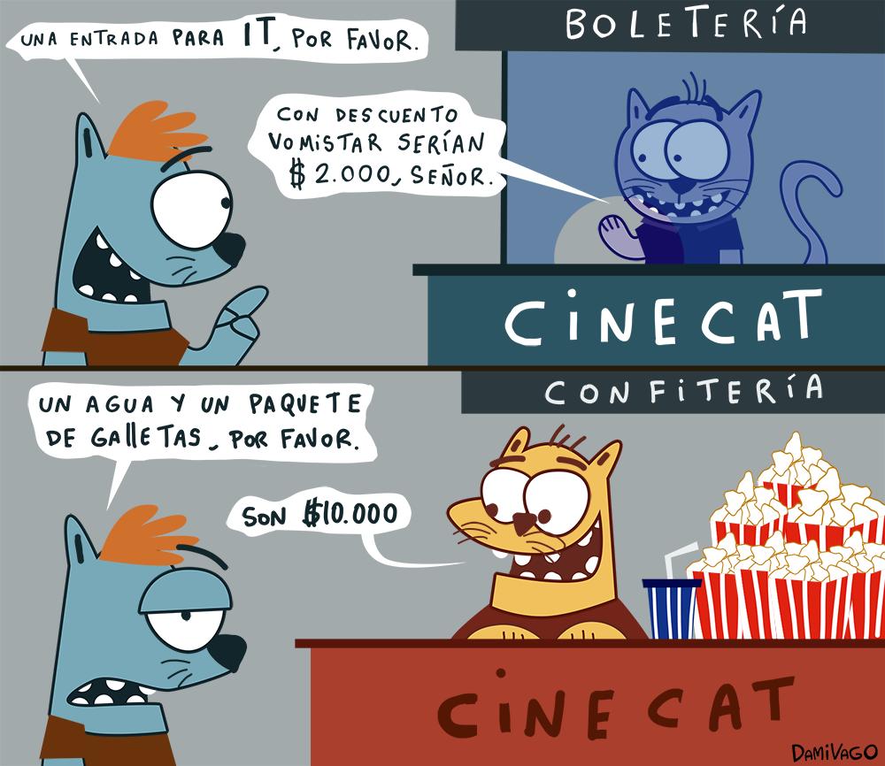 Damivago Nº 619: Cosas de Cine