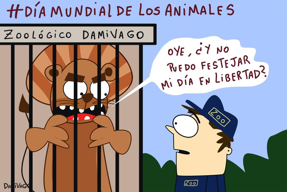 Damivago Nº 622: Día Mundial de Los Animales 2017