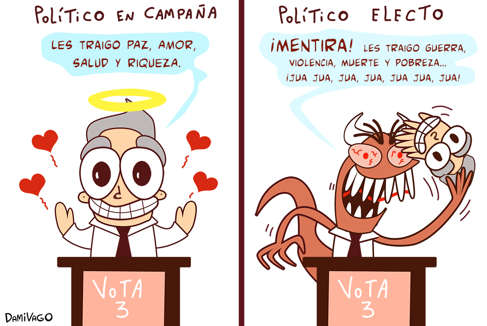 Damivago  Nº 627: Políticos