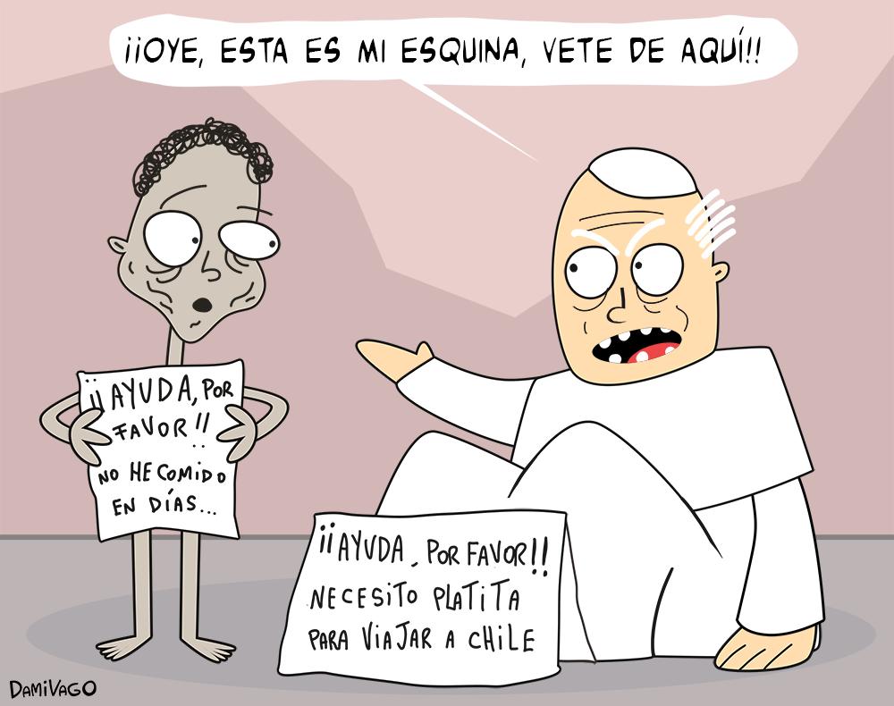 Damivago Nº 629: Visita del Papa 2