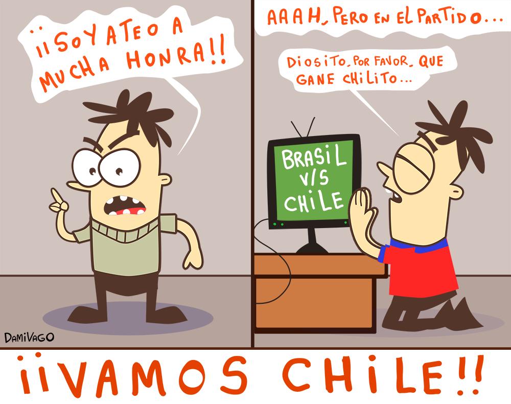 Damivago Nº 630: Vamos Chile!