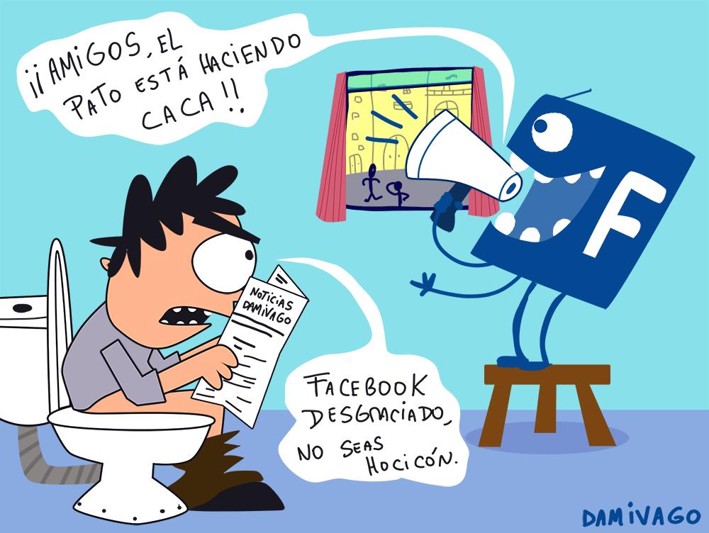 Damivago Nº 648: Facebook  Hocicón