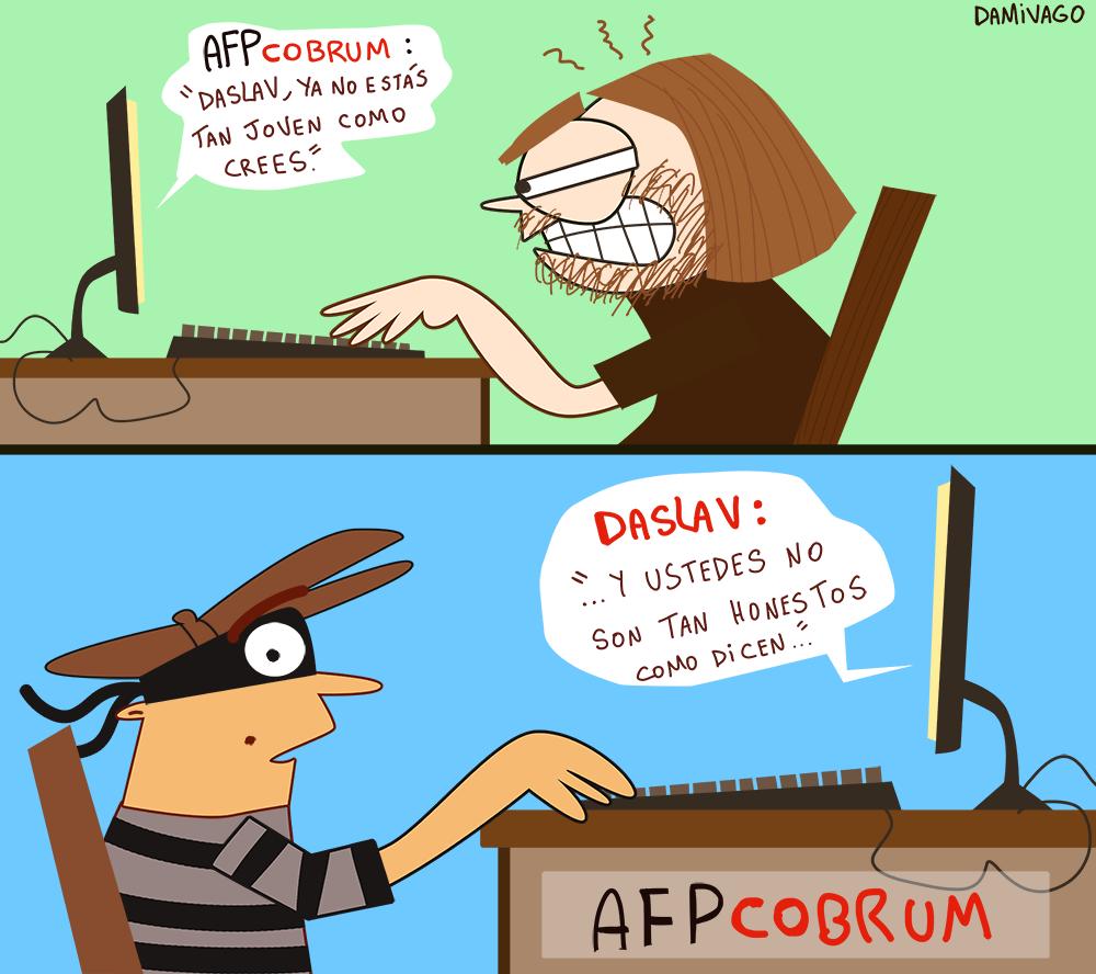 Damivago Nº 659: AFP y su Correo Electrónico