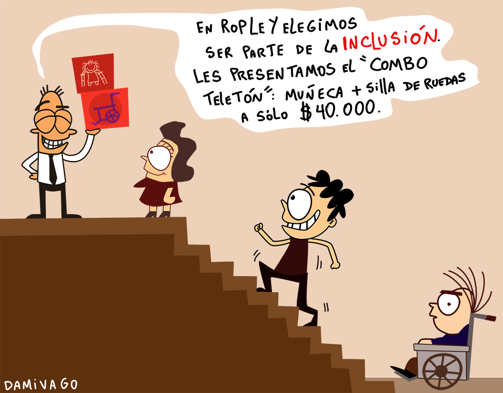 """Damivago Nº 664: """"Inclusión Ropley"""""""