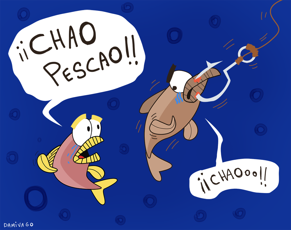 Damivago Nº 678: ¡Chao Pescao!