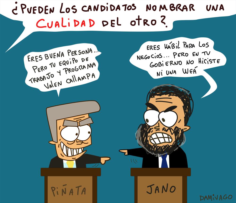 Damivago Nº 681: Debate Presidencial