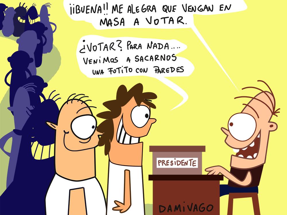 Damivago Nº 686: Anécdota Electoral